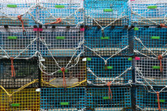 Lobster trap background Royalty Free Stock Photography