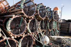 Lobster Trap Detail royalty free stock image