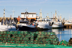 Lobster trap Stock Image