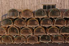 Lobster traps 1 Royalty Free Stock Image