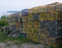 Free Lobster Traps Stock Photo - 26213980