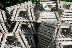 Lobster Traps Royalty Free Stock Image