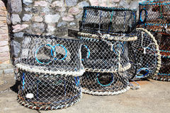 Free Lobster Traps Royalty Free Stock Image - 40110786