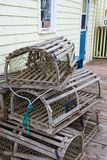 Lobster Traps Royalty Free Stock Photos