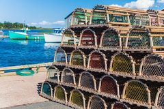 Lobster Traps Stock Image