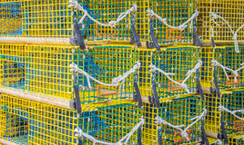Lobster Traps 2 Royalty Free Stock Image