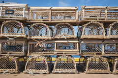 Lobster traps Stock Photos