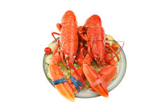 Lobsters Royalty Free Stock Photo