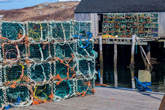 LobsterTraps Royalty Free Stock Photography