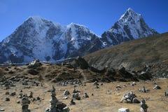 Lobuche Pass. (5110 m) - the way to Kala-Pattar. Nepal 2008 Royalty Free Stock Image