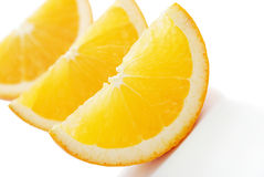 lobule πορτοκάλι Στοκ Φωτογραφία
