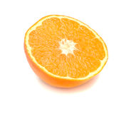Lobule of fresh orange 2 Stock Photos