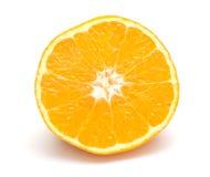 Lobule of fresh orange Stock Photography