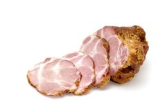 Lobule ham Royalty Free Stock Image