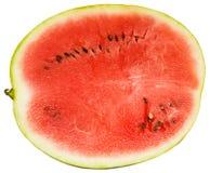 Lobule of ripe juicy watermelon Stock Photos