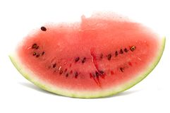 Lobule watermelon stock photo
