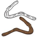 Lobworm Royalty-vrije Stock Foto's