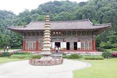 Locais históricos nortes de Coreia Fotografia de Stock Royalty Free