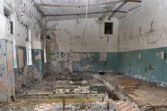 Locais industriais abandonados velhos Fotografia de Stock Royalty Free