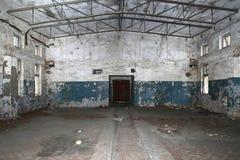 Locais industriais abandonados velhos Imagem de Stock Royalty Free
