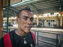 A local aboriginal man - creole Royalty Free Stock Photo