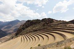 Local agrícola do Inca imagem de stock