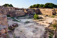 Local antigo de Syria - de Ugarit perto de Latakia Fotos de Stock Royalty Free