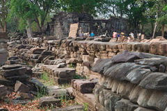 Local Archaeological de Banteay Chhmar, Cambodia Imagem de Stock Royalty Free