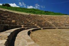 Local Archaeological de Morgantina Foto de Stock