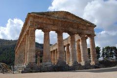 Local Archaeological de Segesta Imagens de Stock