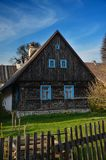 Local architecture at the czech countryside stock images