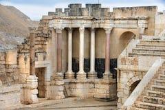 Local arqueológico, Beit Shean, Israel Fotos de Stock