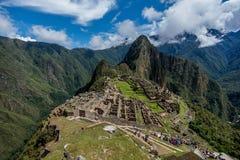 Local arqueológico de Machu Picchu, Peru fotos de stock