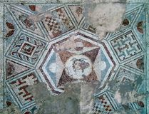 Local arqueológico de Mediana, Nis - Sérvia fotos de stock royalty free