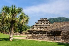 Local arqueológico do EL Tajin, Veracruz, México Fotografia de Stock Royalty Free