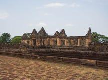 Local arqueológico do Khmer de Prasat Muang Tam em Buriram Tailândia Fotografia de Stock