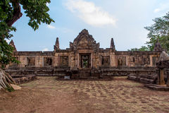 Local arqueológico do Khmer de Prasat Muang Tam na província de Buriram, Tailândia Fotos de Stock