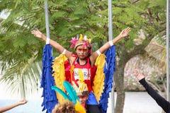 Local arqueológico indiano de Morro grandioso em Rio de janeiro Foto de Stock Royalty Free