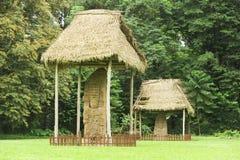 Local arqueológico maia de Quirigua imagem de stock