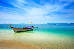 Local boat in Thailand Stock Photo