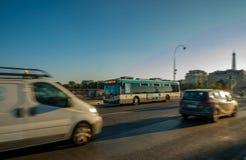 Local bus Paris stockfoto