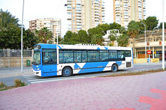 A Local Bus Royalty Free Stock Images