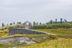 Local cemetery in Inisheer, Ireland Stock Photo