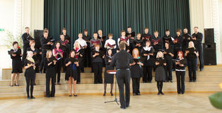 Local Choir Competition Royalty Free Stock Images