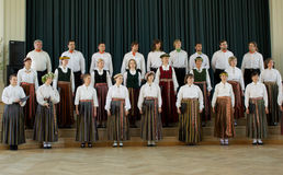 Local Choir Competition Royalty Free Stock Photo
