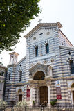 The local Church of La Spezia, Church of Our Lady of the Snows Royalty Free Stock Photos
