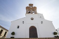 Local church located in spanish Sanlucar town Royalty Free Stock Photo