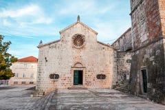 Local church in village Blato on Korcula in Croatia Royalty Free Stock Photo