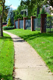 Local City Sidewalk royalty free stock images