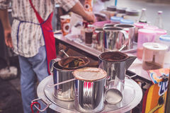 Local coffee equipment in Thailand market Royalty Free Stock Photography
